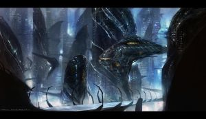 Alien world by johnsonting