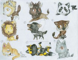 :Free Adopts:Name That Animal-CLOSED by itsmar-Adopts
