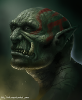 Orc by NikolaiOstertag
