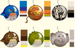 Animal Ornaments Idea~ by MAGICatMIDNIGHT