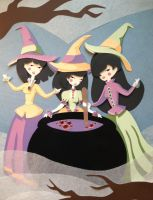 Meghan Murphy's 'We Witches Three' in paper by Eotena