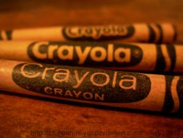 Vintage crayons by The-Cute-Storm