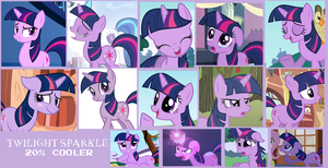 Twilight Sparkle Collage by Scamp4553