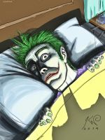 Joker night terror by ikarow