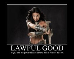 Lawful Good Dejah Thoris by 4thehorde