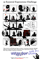 25 Expressions J.A.C. by IMONFIREGUYx
