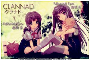 Clannad Wallpaper: Fujibayashi by CharieAnn