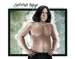 Severus Snape - The bravest and most sexiest! by RedPassion