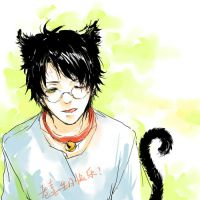 Kitty Harry by luthienelf