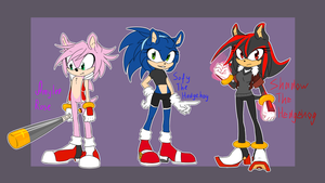 Hedgie gender bender by Deroko