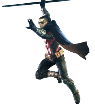 Arkham Knight - Robin Render by Spider-Man91