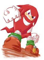 Sonic Boom - Knuckles by Q184