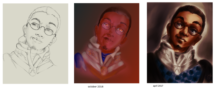 progress in coloring (oct 2016- april 2017) by JnMohab