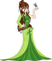 Gift - Gaia, Mother of Nature by StargazerSammie