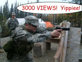 3000 views, YIPPIEE by SudsySutherland