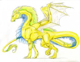 Jak Dragon -colored- by CloudsGirl7