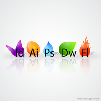 Custom Adobe Icons by iggyvanlith