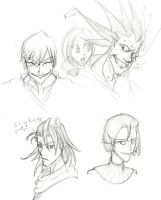 Bleach headshots 1 by KimatteIru