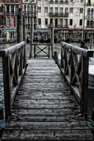 hdr bridge in venice by paoly81