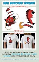 Cute Red Dragon - FOR SALE! by Cachomon