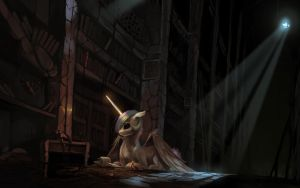 Library of Dark by fruitbloodmilkshake