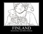 hetalia motivation-finland by aleeakun
