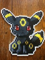 Umbreon - perler beads by EeveePower