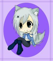 Ashley the Wolf - Commission for Ashley-TWolf by Bazylyk19