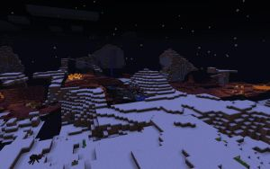 Minecraft - Nether outside the Nether GLITCH by unusual229