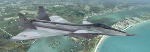 MiG-1.44 - Russian Air Force by Jetfreak-7