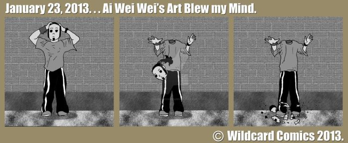 Ai Wei Wei's Artwork by wildcardcomics
