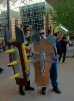 Classic Singed and Hextech Singed 2013 PHXCC by ImperialCody