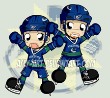 I Got Me Some Sedin Twin Fever by amy-art