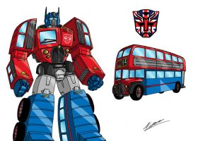 Transformers UK, 1 Optimus by taresh