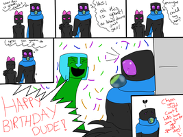 Happy Birthday dude by Ask-Creeps-and-Lanky