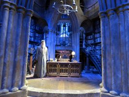 HARRY POTTER studio sets tour ,hogwarts props, by Sceptre63