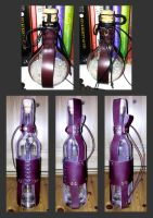 leather bottle fanciness by RestlessLynx