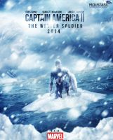 Captain America 2 : The Winter Solider 2014 by DARSHSASALOVE