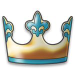 Crown Messenger Testing Logo Design Made By DataM by Shambii