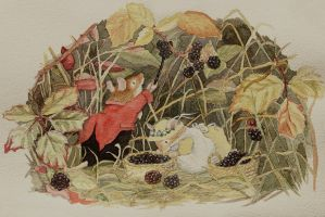 Brambly Hedge Tribute by Monkeygrip