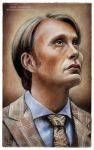 Hannibal NBC - Mads Mikkelsen by MeduZZa13
