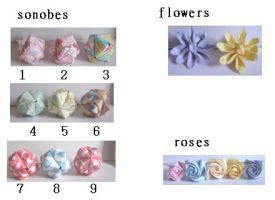 origami flowers by juls2