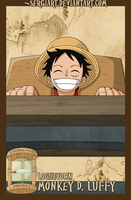 EPP - Loguetown: Luffy by SergiART