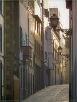 One street of Vegueta by Kaslito