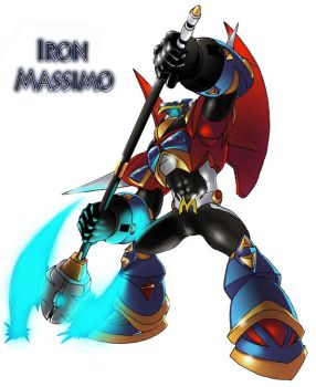 Iron Massimo - Finished Product by LBDNytetrayn