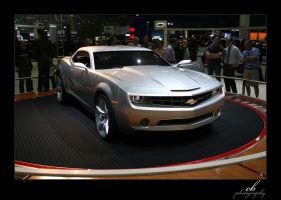 Camaro Concept Front by GhostInKernel32