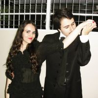 Gomez and Morticia Addams by Lillyka