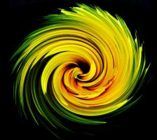 Yellow Vortex by GLOOMKITTY
