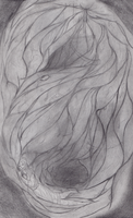Wet Cave - sketch by kuberfish