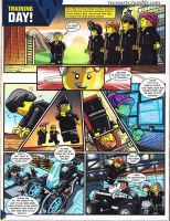 Lego Ultra Agents Comic page 1 by DanVeesenmeyer
